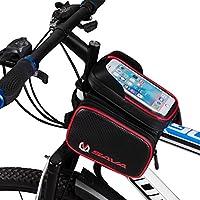 SAVA Bolsa Bicicleta Movil Bicicleta Funda Impermeable Con PVC Para Teléfonos Móviles hasta 6.0