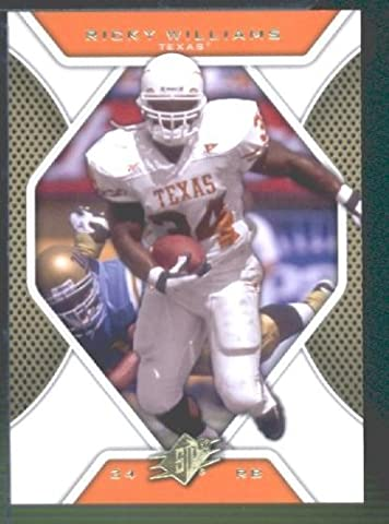 2010 Upper Deck SPx Football Card # 32 Ricky Williams - Longhorns / Miami Dolphins (NFL Trading Card)