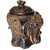 Räucherschale Räuchergefäß Elefant 12 cm hoch aus Messing massiv mit Ornamenten, Schale indisch mit Deckel zum... preisvergleich bei billige-tabletten.eu