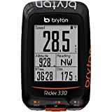 Bryton Rider 330T GPS avec capteur Cadence et ceinture cardio, Noir