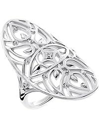 THOMAS SABO Damen Bead Ornament Herz 925er Sterlingsilber K0133-001-12