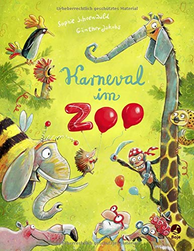 Karneval im Zoo: Band 2 (Ignaz Igel, Band - Story Book Kostüm Kinder