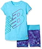 New Balance Little Girls' Short Sleeve A...