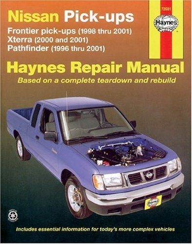 nissan-pickups-xterra-2000-20001-pathfinder1996-2001-and-frontier-1998-2001-haynes-manuals-by-john-h