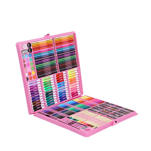 288pcs Kunst-Set, deluxe Art Öl-Bleistifte Stifte Marker Farbstifte - ideal für Anfänger oder...