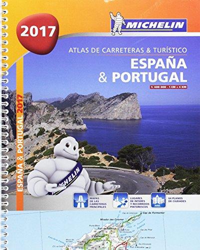 Atlas de carreteras y turístico España & Portugal (formato A-4) (Atlas de carreteras Michelin)