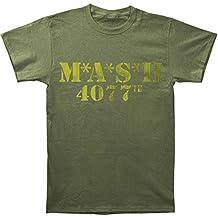 Desconocido Mash Logo 4077th Verde Militar Camiseta tee