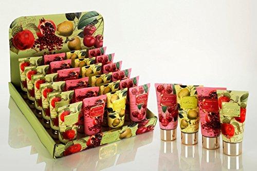 Apfel-granatapfel (zz Hand- & Nagelcreme VINTAGE FRUITS in Tube, 50ml, 4 Motive / Düfte sortiert: Apfel / Granatapfel / Birne / Kirsche)