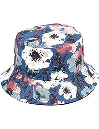 705bca81969 WeiMay Women Ladies Floral Printed Bucket Hat Foldable Wide Brim Summer Sun  Hat Fishmen Outdoor Beach