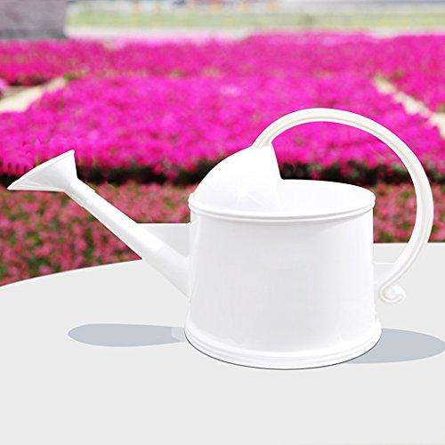 Wddwarmhome Arrosage Bouilloire Résine Arrosoir Pot Enfant Arrosage Outils de jardinage ( Couleur : Blanc , taille : 3.8L )