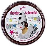 NET TOYS Schminke braun Make Up Faschingsschminke Karnevalsschminke Kostümschminke Theaterschminke