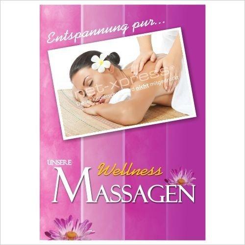 Foto de Placa de anuncio para Masaje relajante A1, Cartel de Publicidad Placa cartel publicidad