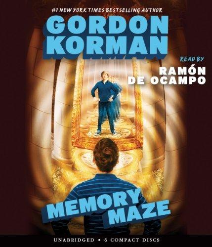 The Hypnotists Book 2: Memory Maze - Audio by Gordon Korman (2014-07-29)