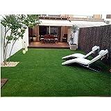 Vaishnavi home decor High Density Artificial Grass Carpet Mat for Balcony, Lawn, Door (2 X 6 Feet Grass Carpet)