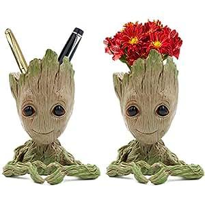 Dighealth Groot Blumentopf Stiftehalter Mit