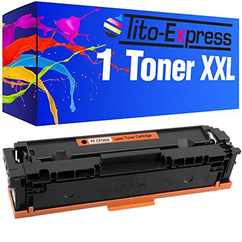 Tito-Express PlatinumSerie Toner Black für HP CF540A Color Laserjet Pro M 254 DNW MFP M 281 FW 281 FDW (Hp Color Laserjet Black Toner)