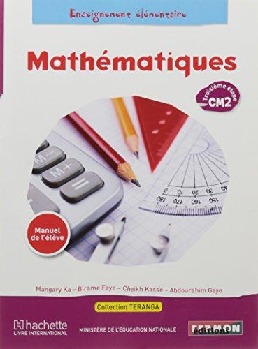 Mathématique CM2 Elève Sénégal