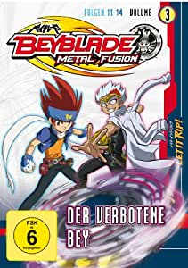 Beyblade Metal Fusion - Volume 3 (Folgen 11-14)