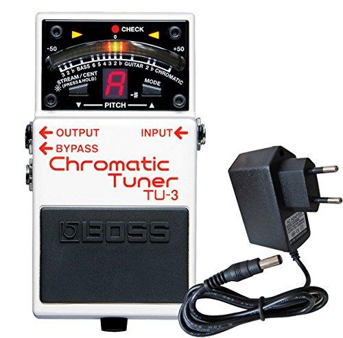 Boss TU-3 chromatisches Stimmgerät Pedal-Tuner + keepdrum 9V Netzteil