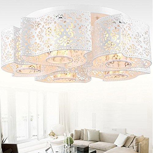 Illuminazione Moda cave scavate moderno e minimalista ha portato soffitto del salotto Luci ristorante Flower Power personalizzato 220v 15-25W , white five head