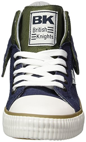 British Knights Herren ROCO High-Top Blau (navy/green/lt grey)
