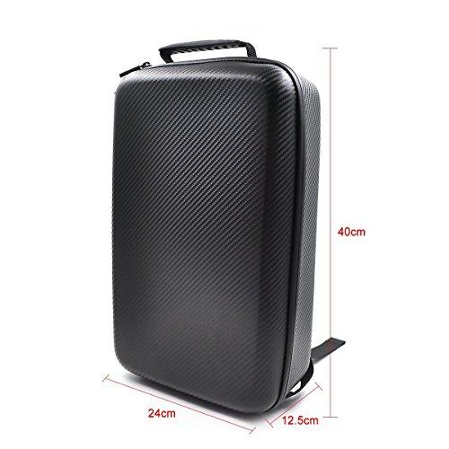 Hardshell Carbon Rucksack Wasserdichte Koffer für DJI Mavic FPV Quadcopter - 4