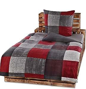 protex 4 teilige winter bettw sche set fleece flausch. Black Bedroom Furniture Sets. Home Design Ideas