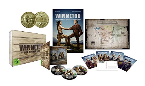 Winnetou - Der Mythos lebt  (Western-Holzkiste) [Blu-ray] [Limited Edition]