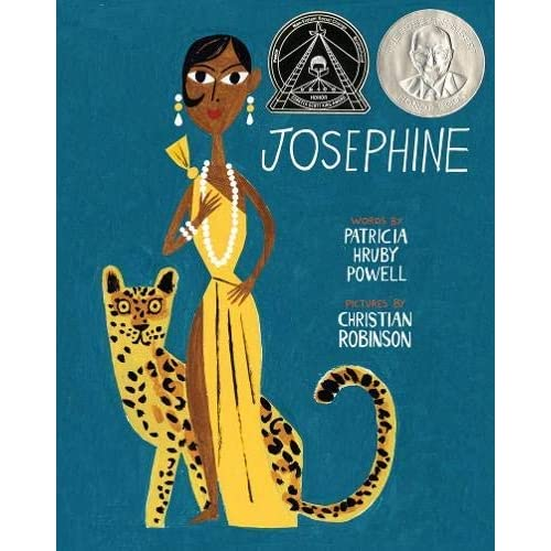 Josephine: The Dazzling Life of Josephine Baker (Coretta Scott King Illustrator Honor Books) by Patricia Hruby Powell(2014-02-01)