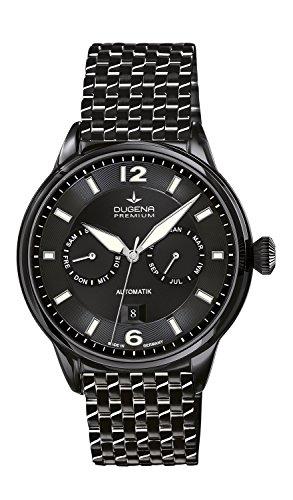 Dugena Premium Kappa Kalender Men's Automatic Watch black/white 7090305