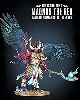 Thousand Sons - Magnus the Red Daemon Primarch of Tzeentch - Warhammer 40,000