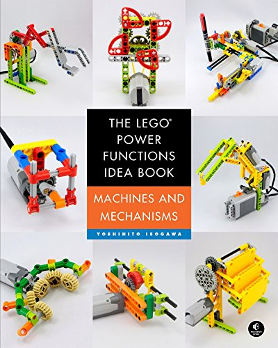 The LEGO® Power Functions Idea Book,  Vol. 1: Machines and Mechanisms (Lego Power Functions Idea Bk 1) (E-power Maschine)