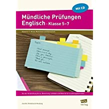 6319950645b3c Mündliche Prüfungen Englisch - Klasse 5-7  Von der Vorbereitung bis zur  Bewertung