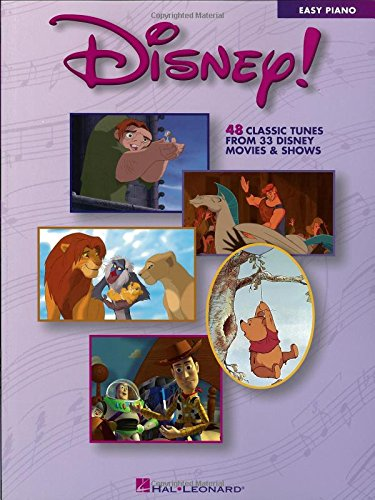 Disney!: Easy Piano (Walt Disney Easy Piano Solos)