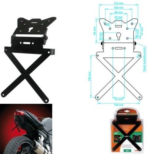 1584 FXCWC SOFTAIL Rocker C 2009-2019 Gepäckträger für Motorräder X-Plate 90144 Universal-Regler Nicht spezifisch 270 x 200 x 40 mm -