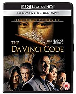 The Da Vinci Code 10th Anniversary [ 4K Ultra HD] [Blu-ray] [2016] [Region Free]