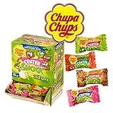100 x Party Favor Süßigkeiten - Chupa Chups Center Shocks Flüssig gefüllten Sour Gum (Ideal Party Tasche Filler / Pinata Preis.)
