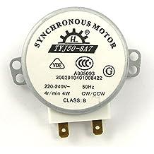 UEETEK TYJ50-8A7 220V-240V 4 RPM 4W CWCCW horno microondas Turnable Motor sincrónico de CA