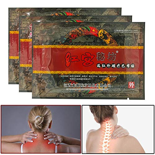 8Pcs / Bag Chinese Herbal Mentho Pain Relief Patch for Cervical Spondylosis Joint Pain by ROMANTIC BEAR