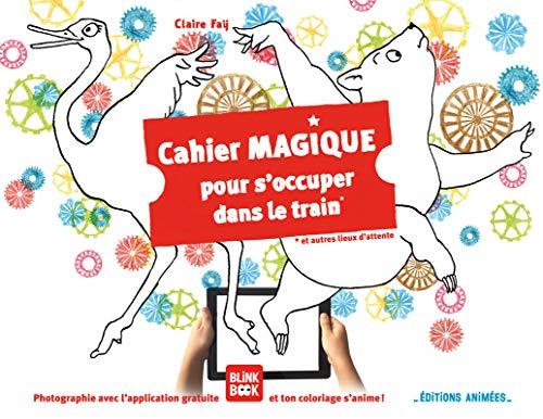 Cahier magique pour s'occuper dans le train ou autres lieux d'attente