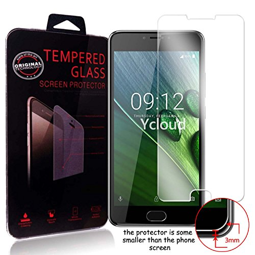 Ycloud Panzerglas Folie Schutzfolie Bildschirmschutzfolie für Acer Liquid Z6 Plus (5.5 Zoll) screen protector mit Härtegrad 9H, 0,26mm Ultra-Dünn, Abger&ete Kanten