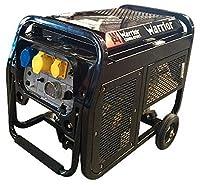 Générateur Warrior 4600W Diesel Générateur de courant de secours Générateur 230V UE