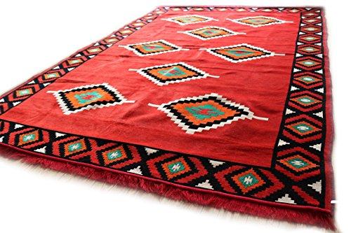 Damaskunst 200cm x 300cm kilim orientale tappeto kelim tappeto/tappetino, arazzo da appendere alla parete, tappeto, tappeto, tappeti, nuovo, s 1-6-70