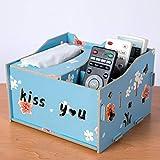 T-ZJHC Creativo multi-funzione scatola del tessuto scatola di immagazzinaggio telecomando soggiorno tavolino vassoio di carta, neve, loto