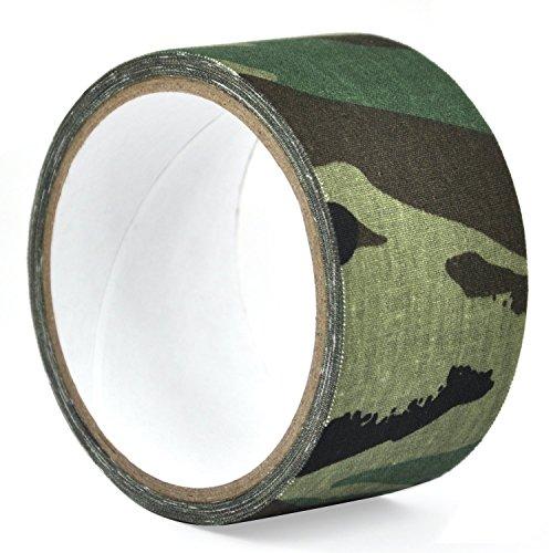 Trixes 5 Meter Klebeband 5 cm breit in Camouflage-Green