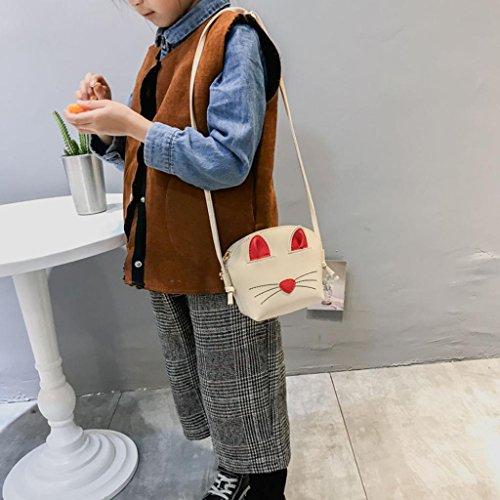 Tote Donna Pu Borsa A Donna Beige Tracolla Tracolla Mini Shopper Messenger Pelle Huihong Borsa Dolce Borsa Decorazione In A Tote 46xOxIA
