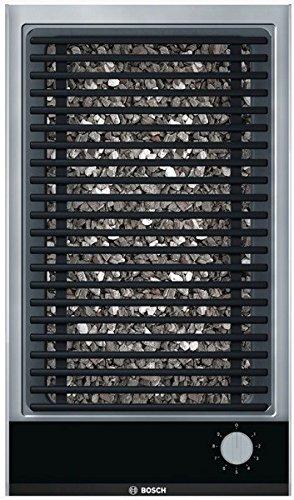 Bosch Serie 2 PKU375CA1E Elektrokamin 2400W Schwarz, Grau Barbecue & Grillpfanne