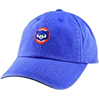 89604f25103 American Needle Chicago Cubs Conway Ripstop Slouch Adjustable Hat Blue