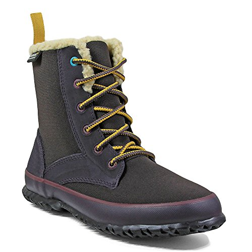 Bogs Outdoor Boots Womens Skylar Lace up Insulated 7 M Eggplant 72182