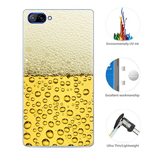 95Street Silikon Hülle für Doogee Mix, Ultra-Clear Handyhülle für Doogee Mix Soft TPU Crystal Clear Premium Schutzhülle Case Backcover Bumper Slim Case für Doogee Mix